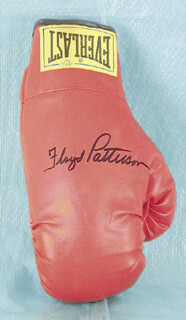 FLOYD PATTERSON - BOXING GLOVE SIGNED