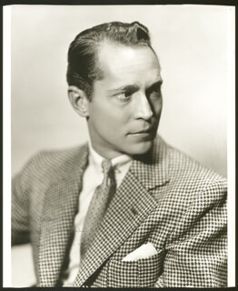 FRANCHOT TONE - AUTOGRAPHED INSCRIBED PHOTOGRAPH