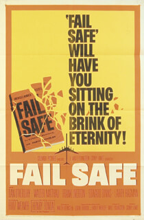 FAIL SAFE MOVIE CAST - POSTER UNSIGNED 1964