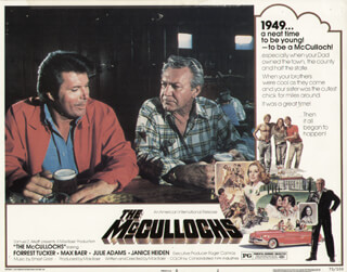THE MC CULLOCHS - LOBBY CARD UNSIGNED (USA) 1975