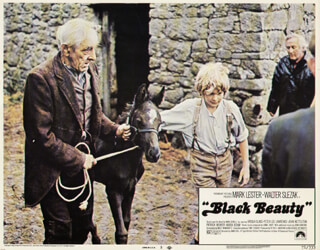 BLACK BEAUTY MOVIE CAST - LOBBY CARD UNSIGNED (USA) 1971