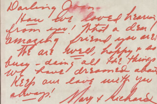 MARY MARTIN - AUTOGRAPH LETTER SIGNED