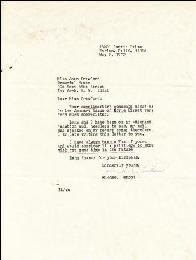 MICHAEL LANDON - TYPED LETTER SIGNED 05/02/1972