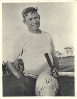 WILL ROGERS SR. - AUTOGRAPHED SIGNED PHOTOGRAPH