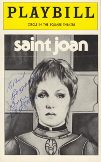 LYNN REDGRAVE - INSCRIBED PROGRAM SIGNED