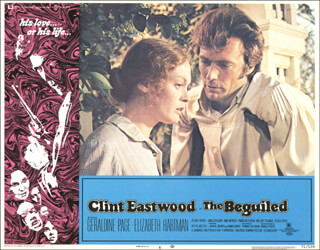 BEGUILED MOVIE CAST - LOBBY CARD UNSIGNED (USA) 1971