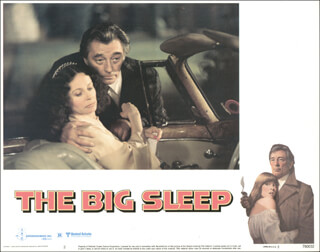 BIG SLEEP MOVIE CAST - LOBBY CARD UNSIGNED (USA) 1978