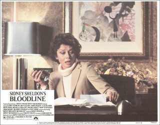 BLOODLINE MOVIE CAST - LOBBY CARD UNSIGNED (USA) 1978