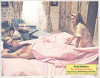 Autographs: ANDERSON TAPES MOVIE CAST - LOBBY CARD UNSIGNED (USA) 1971