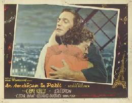 Autographs: AN AMERICAN IN PARIS MOVIE CAST - LOBBY CARD UNSIGNED (USA) 1951