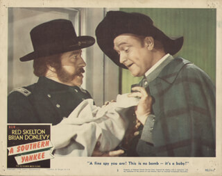A SOUTHERN YANKEE MOVIE CAST - LOBBY CARD UNSIGNED (USA) 1948