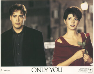 ONLY YOU MOVIE CAST - LOBBY CARD UNSIGNED (USA)
