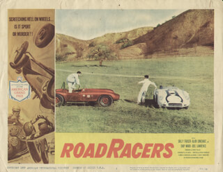 ROAD RACERS MOVIE CAST - LOBBY CARD UNSIGNED (USA) 1959