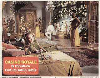 CASINO ROYALE MOVIE CAST - LOBBY CARD UNSIGNED (USA) 1967