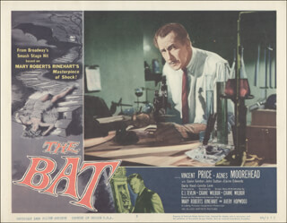 BAT MOVIE CAST - LOBBY CARD UNSIGNED (USA)