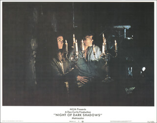 NIGHT OF DARK SHADOWS - LOBBY CARD UNSIGNED (USA) 1971