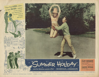 SUMMER HOLIDAY MOVIE CAST - LOBBY CARD UNSIGNED (USA) 1963