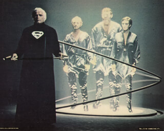 SUPERMAN: THE MOVIE - MOVIE CAST - LOBBY CARD UNSIGNED (USA) 1978