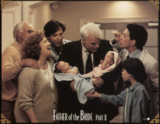 FATHER OF THE BRIDE PART II MOVIE CAST - LOBBY CARD UNSIGNED (USA) 1995