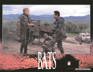 BATS MOVIE CAST - LOBBY CARD UNSIGNED (USA) 1999