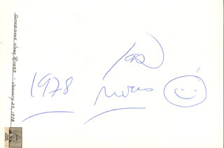 JOAN RIVERS - AUTOGRAPH 1978