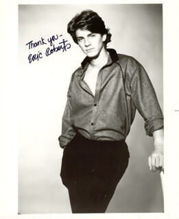 ERIC ROBERTS - AUTOGRAPHED SIGNED PHOTOGRAPH