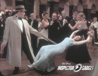 INSPECTOR GADGET MOVIE CAST - LOBBY CARD UNSIGNED (USA) 1999