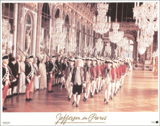 JEFFERSON IN PARIS MOVIE CAST - LOBBY CARD UNSIGNED (USA)