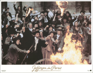 JEFFERSON IN PARIS MOVIE CAST - LOBBY CARD UNSIGNED (USA) 1995