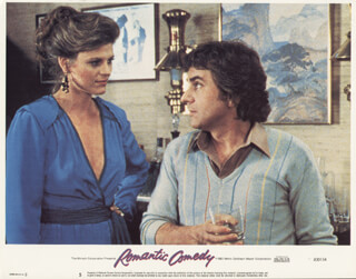 ROMANTIC COMEDY MOVIE CAST - LOBBY CARD UNSIGNED (USA) 1983