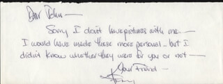 KENNY ROGERS - AUTOGRAPH LETTER SIGNED