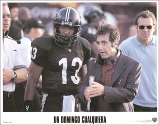Autographs: ANY GIVEN SUNDAY MOVIE CAST - LOBBY CARD UNSIGNED (SP) 2000