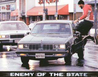ENEMY OF THE STATE MOVIE CAST - LOBBY CARD UNSIGNED (USA) 1998