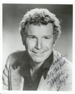 WAYNE ROGERS - AUTOGRAPHED INSCRIBED PHOTOGRAPH