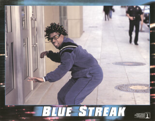BLUE STREAK MOVIE CAST - LOBBY CARD UNSIGNED (USA) 1999