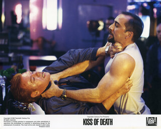 KISS OF DEATH MOVIE CAST - LOBBY CARD UNSIGNED (USA) 1995