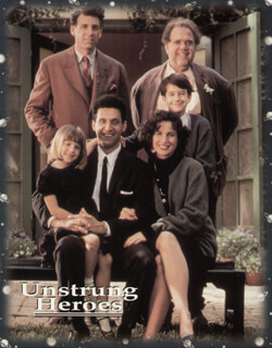 UNSTRUNG HEROES MOVIE CAST - LOBBY CARD UNSIGNED (USA) 1995