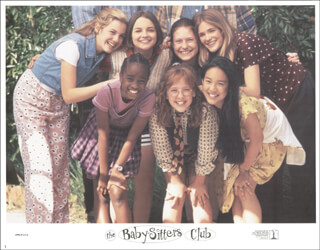 BABY-SITTERS CLUB MOVIE CAST - LOBBY CARD UNSIGNED (USA) 1995