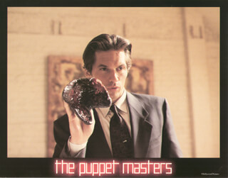 PUPPET MASTERS MOVIE CAST - LOBBY CARD UNSIGNED (USA) 1994