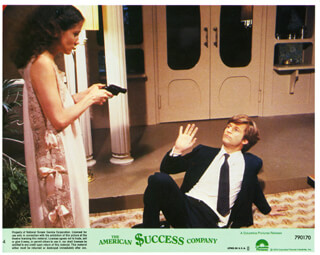 AMERICAN SUCCESS COMPANY MOVIE CAST - LOBBY CARD UNSIGNED (USA) 1979