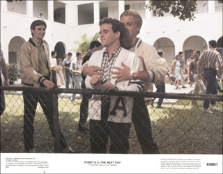 PORKY''S II: THE NEXT DAY MOVIE CAST - LOBBY CARD UNSIGNED (USA) 1983