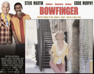BOWFINGER MOVIE CAST - LOBBY CARD UNSIGNED (USA) 1999