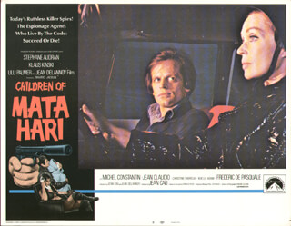 CHILDREN OF MATA HARI MOVIE CAST - LOBBY CARD UNSIGNED (USA) 1970