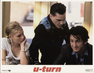 U TURN MOVIE CAST - LOBBY CARD UNSIGNED (USA) 1997