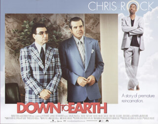 DOWN TO EARTH MOVIE CAST - LOBBY CARD UNSIGNED (USA) 2001