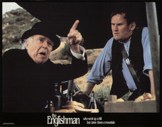 THE ENGLISHMAN WHO WENT UP A HILL BUT CAME DOWN A MOUNTAIN MOVIE CAST - LOBBY CARD UNSIGNED (USA) 1995