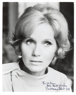 EVA MARIE SAINT - AUTOGRAPHED INSCRIBED PHOTOGRAPH 1978