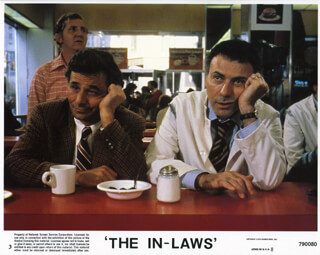 IN-LAWS MOVIE CAST (1979) - LOBBY CARD UNSIGNED (USA) 1979