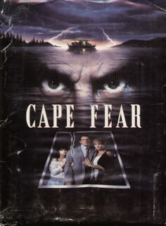 CAPE FEAR MOVIE CAST - PRESS KIT UNSIGNED 1991