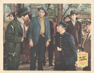 I''LL GIVE A MILLION MOVIE CAST - LOBBY CARD UNSIGNED (USA) 1938